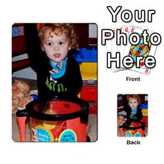 Photo Final By Jess Giglio   Multi Purpose Cards (rectangle)   Pudd3efyacil   Www Artscow Com Back 30