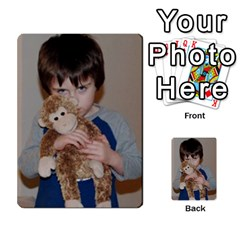 Photo Final By Jess Giglio   Multi Purpose Cards (rectangle)   Pudd3efyacil   Www Artscow Com Back 39