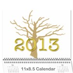 2013 cal - mom and dad - Wall Calendar 11  x 8.5  (12-Months)