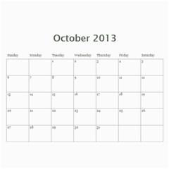 2013 Cal   Mom And Dad By Edith   Wall Calendar 11  X 8 5  (12 Months)   F6fq42gdvj3n   Www Artscow Com Oct 2013