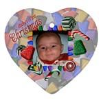 Baby s First Christmas - Ornament (Heart)