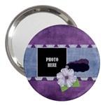 Lavender Rain 3  Handbag Mirror 1
