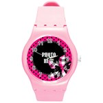 BWP Plastic Watch 1 - Round Plastic Sport Watch Medium
