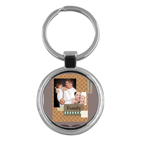 Merry Christmas By Jo Jo   Key Chain (round)   Ygh15lztfzwq   Www Artscow Com Front