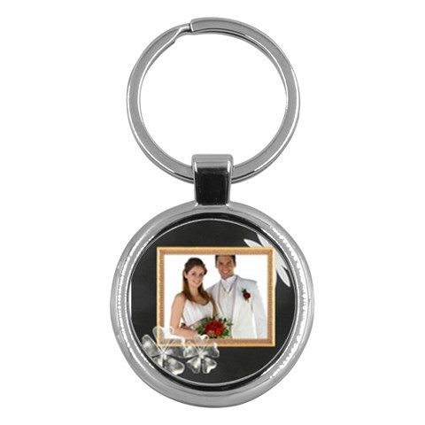 Wedding By Jo Jo   Key Chain (round)   Gjzyhrkhfqeg   Www Artscow Com Front