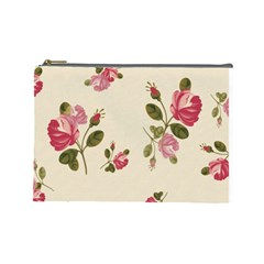 101 5 By Fish Yu   Cosmetic Bag (large)   Mosaao9al044   Www Artscow Com Front
