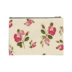 101 5 By Fish Yu   Cosmetic Bag (large)   Mosaao9al044   Www Artscow Com Back