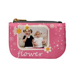 Flower By Joely   Mini Coin Purse   F4mbyfwi4rxj   Www Artscow Com Front