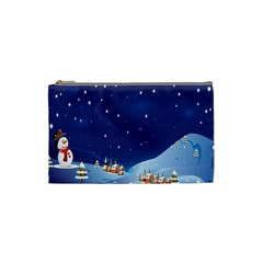 101 5 3 4 By Fish Yu   Cosmetic Bag (small)   M7i6793lco1y   Www Artscow Com Front