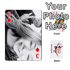 Cards By Lesley   Playing Cards 54 Designs   K6ty4l1lahjb   Www Artscow Com Front - Diamond3