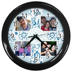 Daddy Clock - Wall Clock (Black)