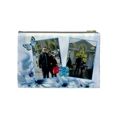 Chanta Manja 1 By Georgi Georgiev   Cosmetic Bag (medium)   Do472jtas4bl   Www Artscow Com Back