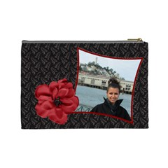 Chanta Manja 3 By Georgi Georgiev   Cosmetic Bag (large)   5in5hroz5nhy   Www Artscow Com Back