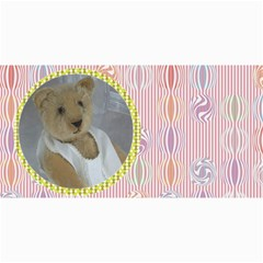 10 Cards With Old Teddy Bears ( With Modern /retro Backgrounds) By Riksu   4  X 8  Photo Cards   S38e5naoi8vq   Www Artscow Com 8 x4 Photo Card - 3