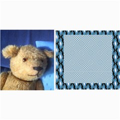 10 Cards With Old Teddy Bears ( With Modern /retro Backgrounds) By Riksu   4  X 8  Photo Cards   S38e5naoi8vq   Www Artscow Com 8 x4 Photo Card - 7