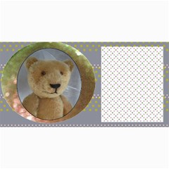 10 Cards With  Old Teddy Bears With Old Fashioned Backgrounds By Riksu   4  X 8  Photo Cards   Itsd08ccqqsn   Www Artscow Com 8 x4 Photo Card - 5