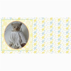 10 Cards With  Old Teddy Bears With Old Fashioned Backgrounds By Riksu   4  X 8  Photo Cards   Itsd08ccqqsn   Www Artscow Com 8 x4 Photo Card - 8