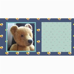 10 Cards With  Old Teddy Bears With Old Fashioned Backgrounds By Riksu   4  X 8  Photo Cards   Itsd08ccqqsn   Www Artscow Com 8 x4 Photo Card - 9