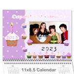 2015 Nannies Calendar - Wall Calendar 11  x 8.5  (12-Months)