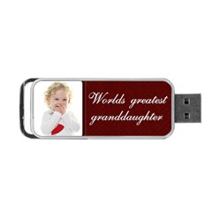 Grandaughter By Claire Mcallen   Portable Usb Flash (two Sides)   Xjpzlefjpkzm   Www Artscow Com Front