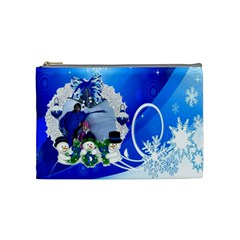 Chanta Uzana 1 By Georgi Georgiev   Cosmetic Bag (medium)   Bqcbbi5v9uat   Www Artscow Com Front