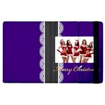 merry christmas, happy new year, xmas - Apple iPad 2 Flip Case