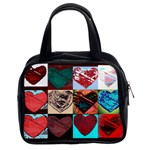 bag hearts 1  (2 sides) - Classic Handbag (Two Sides)
