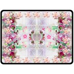 Flower Fun XL Blanket - Fleece Blanket (Large)