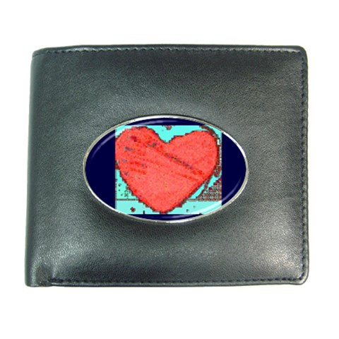 Wallet For Cards 2 (heart) By Riksu   Wallet   30a2lt9ptldb   Www Artscow Com Front