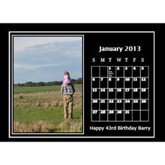 2013 Desktop Dalendar By Megan Elliott   Desktop Calendar 8 5  X 6    Pvjg22zmbmu8   Www Artscow Com Jan 2013