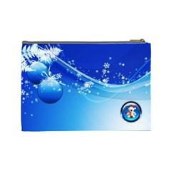 Christmas By Joanne5   Cosmetic Bag (large)   0wvj22xi7z6o   Www Artscow Com Back