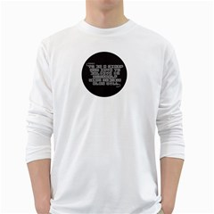 Teemazing White Long Sleeve Man''s T Shirt by uTees