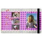 Pink Frill Apple iPad 3 Flip Case - Apple iPad 3/4 Flip Case