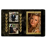 Gold and Black Marble Apple iPad 2 Flip case