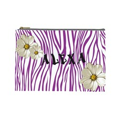 Alexa By Mindy Simpson   Cosmetic Bag (large)   Vcx608z05ov6   Www Artscow Com Front