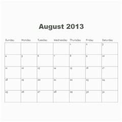 2013 Calendar By J  Richardson   Wall Calendar 11  X 8 5  (12 Months)   8whyloeb90xl   Www Artscow Com Aug 2013