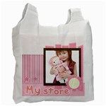 girl - Recycle Bag (One Side)
