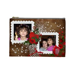 Mima By Maria Georgieva   Cosmetic Bag (large)   U76o67k9v6rs   Www Artscow Com Front