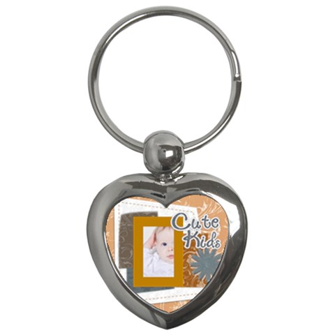 Kids By Betty   Key Chain (heart)   Jxovkus3j351   Www Artscow Com Front