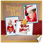 super star - Canvas 12  x 12