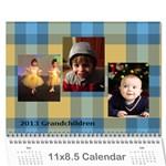 2013 Grandchildren Calendar - Wall Calendar 11  x 8.5  (12-Months)