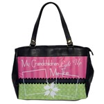 Grandchildren light up my life office bag - Oversize Office Handbag