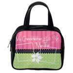 Grandchildren light up my life classic handbag - Classic Handbag (One Side)