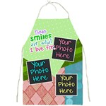 These smiles are what I live for Apron - Full Print Apron