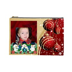Ren And Tan Ornament Cosmetic Bag (large) By Kim Blair   Cosmetic Bag (large)   Rovs7b26xges   Www Artscow Com Front