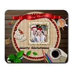 Chirstmas Collage Mousepad