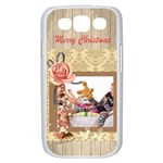 merry christmas, xmas, happy new year  - Samsung Galaxy S III Case (White)