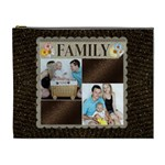 Family Brown XL Cosmetic Bag - Cosmetic Bag (XL)