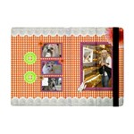 Orange Frill Apple iPad Mini Flip Case
