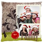 kids of love family - Large Cushion Case (One Side)